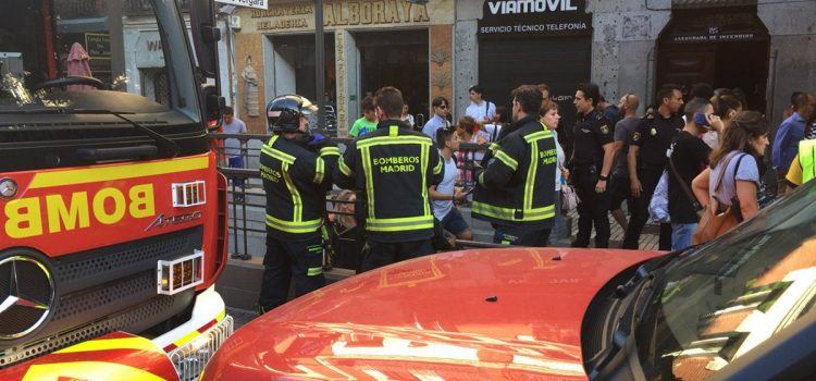Car Bomb Explodes Outside Police Station in Madrid
