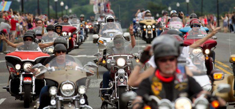 Best Display of Patriotism, 2 Millions Bikers to DC